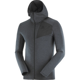 Salomon Outline Veste à capuche zippée Homme, black